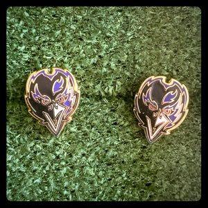 Baltimore Ravens NFL Earrings